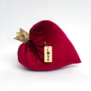 Βελούδινηη Καρδιά Δώρο Αγίου Βαλεντίνου