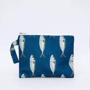 SoLucky BLUE FISH CLUTCH BAG ΧΕΙΡΟΠΟΙΗΤΟ bag0012_1.jpg