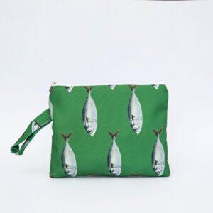 SoLucky GREEN FISH CLUTCH BAG ΧΕΙΡΟΠΟΙΗΤΟ bag0013_1.jpg