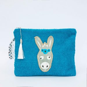 SoLucky DONKEY BLUE BEACH BAG ΧΕΙΡΟΠΟΙΗΤΟ bag0022_1.jpg